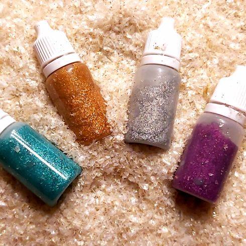 Glitter gel voor henna